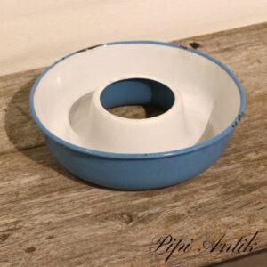 38 Madam Blå randform kageform uden ophæng Ø24xH6,5 cm