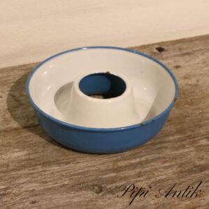 40 Madam Blå randform kageform Ø21xH6 cm