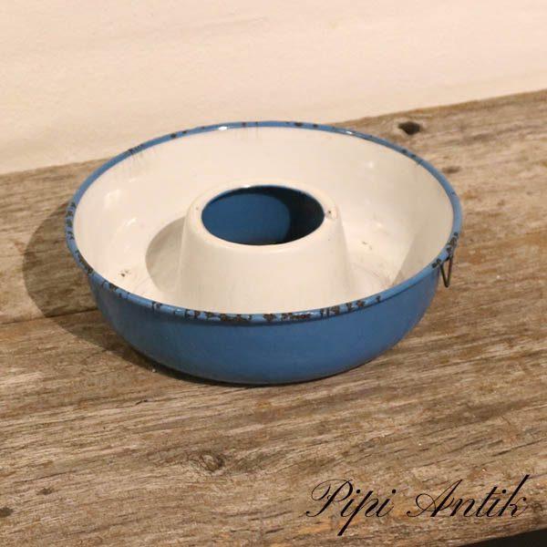 41 Madam Blå randform kageform med ophæng Ø21xH6 cm