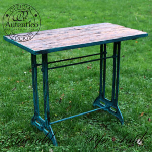Emerald gammelt sybord med rustik træbord brunt L90xD51xH76 cm