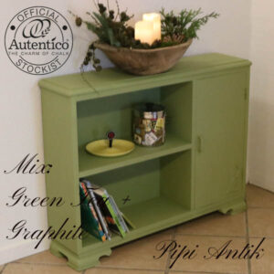 Green Tea Graphite hylde skab L100xD25xH76 cm