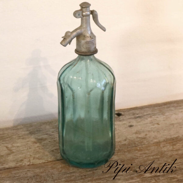 05 Sifon Tyrkis blå Ø10,5xH31,5 cm