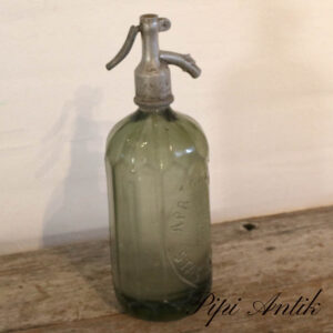 09 Sifon oliven grøn Ø10xH31,5 cm