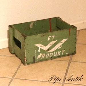 ET produkt Øl kasse grøn L41xB27xH22 cm