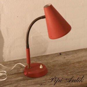 15 Retro metal bordlampe med messing arm Ø12,5 xH45,5 cm