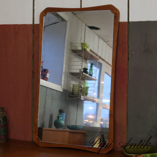 20 Teak spejl på B41xH68x1,5 cm