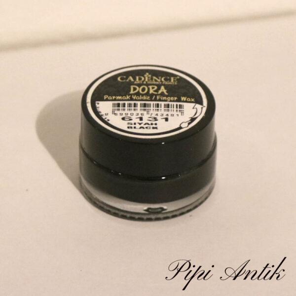 6131 Cadence Dora fingervoks Siyah Black sort 20 ml