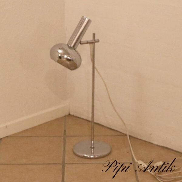 Retro krom lampe Ø16xH66 cm