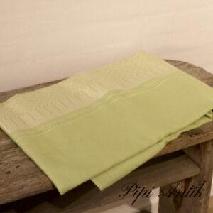 Retro grøn dug kunstof L196xB143 cm