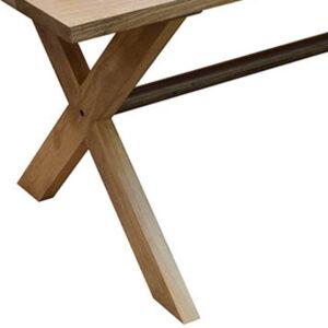 Plankebord kryds træben og stang