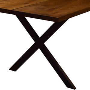 Plankebord metal krydsben