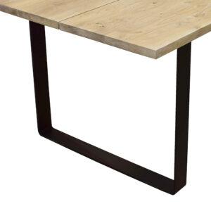 Plankebord med U metalben