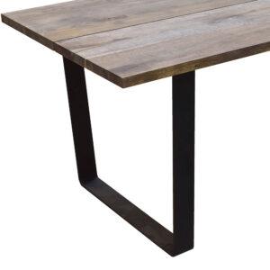 Plankebord med Trapez metalben