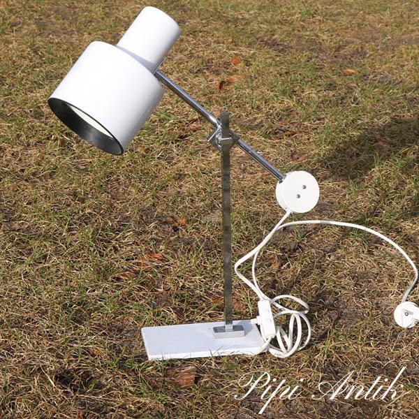 36 Hvid SE metal retro bordlampe H45 cm