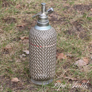 39 Lys metal retro sifon Ø10xH35 cm