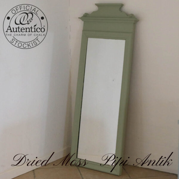 Dried Moss romantisk spejl B52xH124xD6 cm