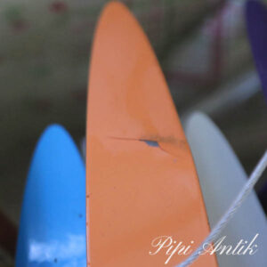 Lampe JAWS orange skade