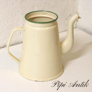06 Madam Creme emalje kaffekande uden låg G&M Ø14,5xH18 cm
