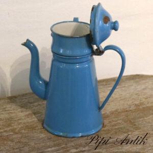Madam Blå G&M kaffekande med kaffefilter ring Ø12xH20 uden filter