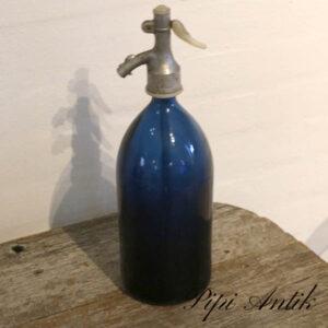 Sifon dyb blå Ø10xH34 cm