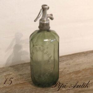 15 Olivengrøn APA sifon Ø10xH30 cm