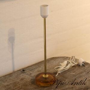 Messing retro lampe Ø10xH39 cm