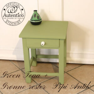 Grøn natbord B40xD40xH52 cm