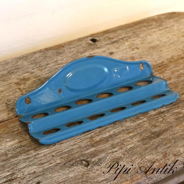 21 Madam blå grydeskeholder L28xD8,5xH7 cm
