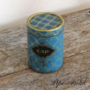Cap lille dåse Ø7,5xH10 cm