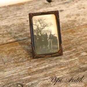 25 Retro billederamme lille H9,5x6,5 cm