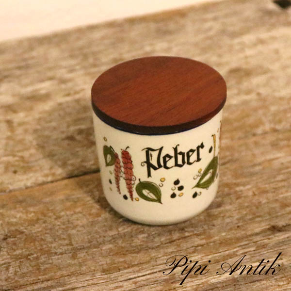 Knastrup peber krukke i keramik Ø7xH7 cm