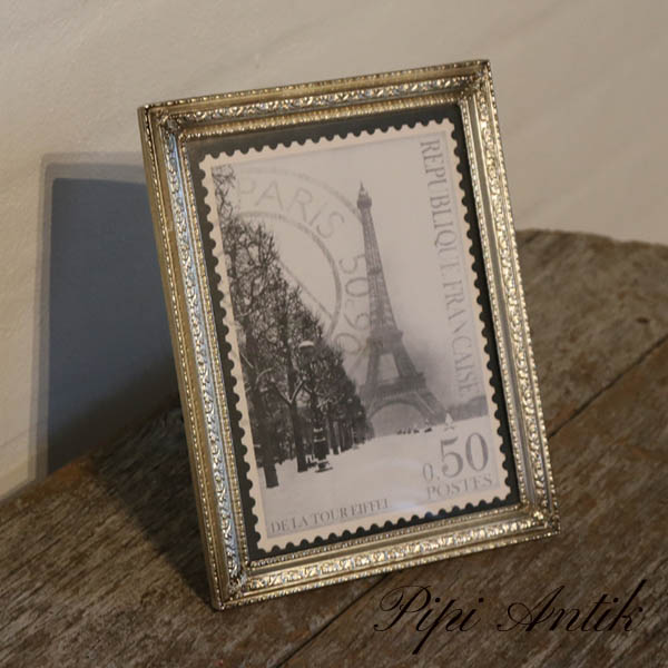 17 Retrolook fotoramme i sølv look B16,5xH21 cm