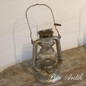 19 Flagermuslampe petroleum Ø10xH20cm