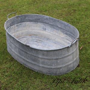 21 Zink vaskebalje kar L95xB60xH30 cm