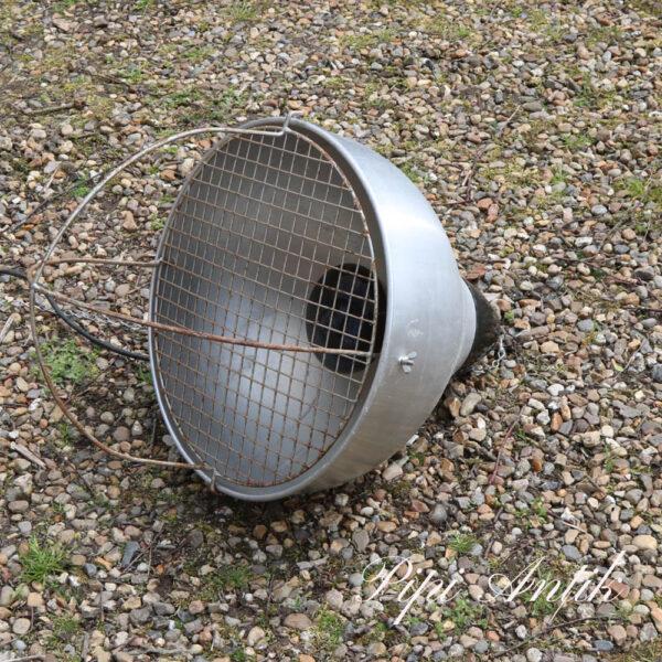 Industrilampe aluminium Ø41xH42 cm