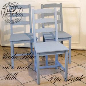 Code Blue mix stole B41,5xD41,5xH90 sædet 45,5 cm