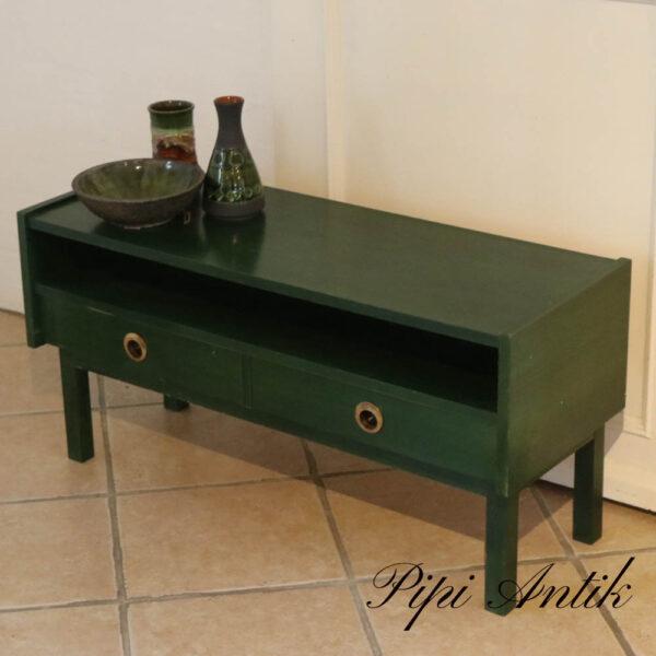Retro grøn entrekommode L91xD33xH44,5 cm