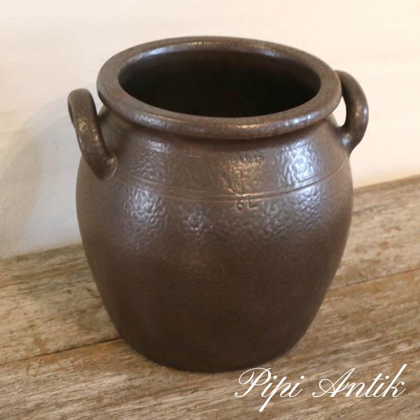75 Höganäs 6 liters krukke Ø17xH23,5 cm