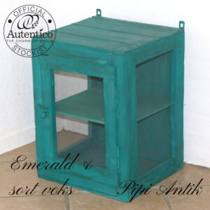 Emerald Flueskab med net B40xD37,5xH52cm