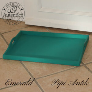 Emerald træbakke L50,5xD36xH5,5 cm