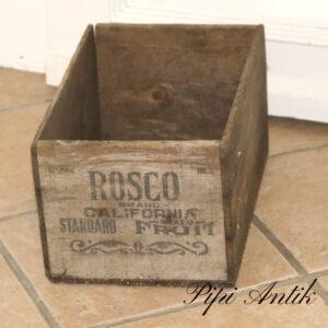 Rosco California frugtkasse vel patineret L39xD25xH20 cm