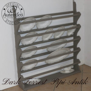 Dark Forrest tallerkenrække stor L92xD14,5xH101 cm