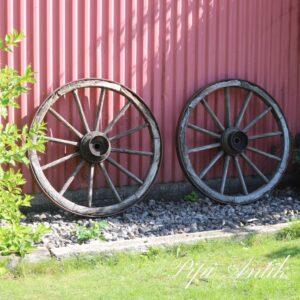 Hestevognshjul XL Ø106 cm