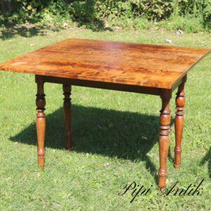 292 Klap køkkenbord maghonilook i fyrretræ L94xB42xH71 klap 25cm hver