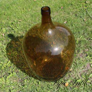 Okkerfarvet vin flaske Ø45xH60cm