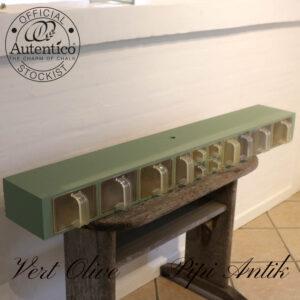Krydderihylde i Vert Olive Autentico L210xD18xH12cm